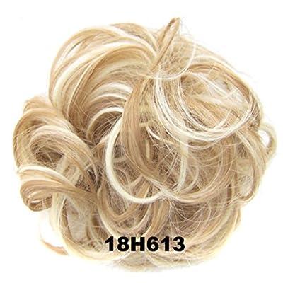 UxradG lockige unordentliche Haargummis