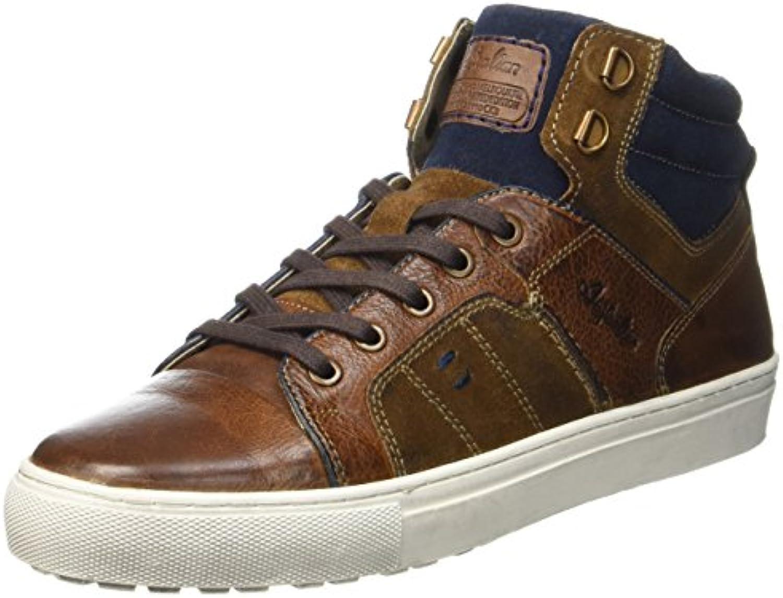 Australian Herren Nebraska Leather Hohe Sneaker