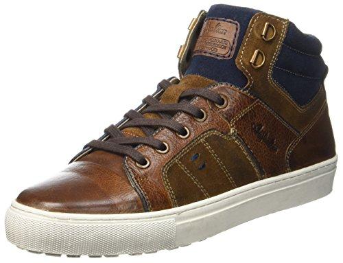 Australian Nebraska Leather, Baskets Hautes Homme