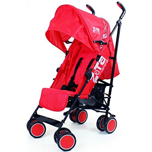 Zeta Citi Stroller Buggy Pushchair – Red 51QvBkE1xsL