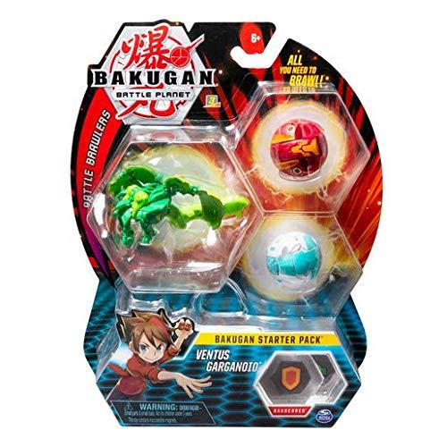 BAKUGAN Starter 3 Pack Action Figure - Ventus Garganoid