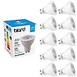 Biard LED GU10 Deckenstrahler - Einbau-Spot Spotlight Leuchte Warmweiß 4 Watt