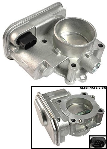 APDTY 112542 Throttle Body Assembly w/Actuator IAC Idle Air Control TPS Fits 4-Cylinder Engine Only On 2007-2014 Chrysler 200 / 2007-2014 Dodge Avenger / 2007-2012 Dodge Caliber / 2009-2015 Dodge Journey / 2007-2015 Jeep Compass / 2007-2015 Jeep Patriot by