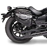 Satteltasche 3L für Yamaha XVS 950 A Midnight Star schwarz rechts