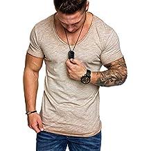 Susen Camisas De Manga Corta Hombre,Camisas De Hombre De Vestir Manga Corta Secado Rapido