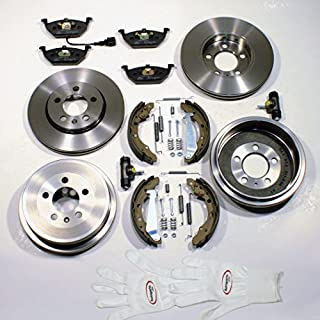 Autoparts-Online Set 60002430 Bremsen Set Vorne + Hinten