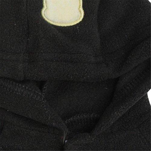 Haustier Hund Welpe Letter Lippen Drucken Fashion Pet Hundemantel-Jacke Pullover Hoodie Warm Sweatshirts Overalls Bekleidung M