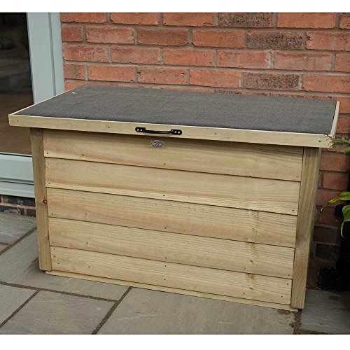Wooden Overlap Pressure Treated Garden Patio Storage Tool Shed Chest Container Best Price and Cheapest