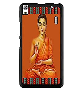 PrintDhaba Holy Image D-4233 Back Case Cover for LENOVO A7000 PLUS (Multi-Coloured)