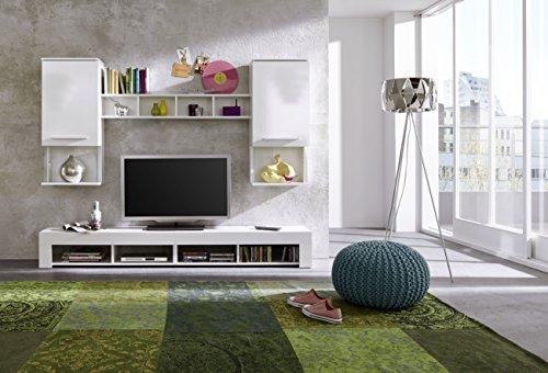 wohnwand nussbaum schwarz bestseller shop f r m bel und einrichtungen. Black Bedroom Furniture Sets. Home Design Ideas