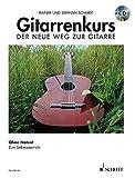Gitarrenkurs: Der neue Weg zur Gitarre. Ohne Noten!. Gitarre. Ausgabe mit CD.