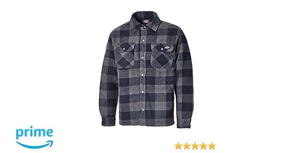 Dickies Shirt Portland Hemd Blue-L  Amazon.fr  Vêtements et accessoires a358cf75475c