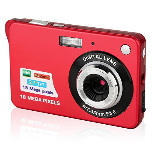 Digital Camera, 2.7inch 18MP 8x ...