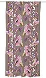 Vallila CT000504-3 Silkkisuukko Vorhang, Blumen, rosa