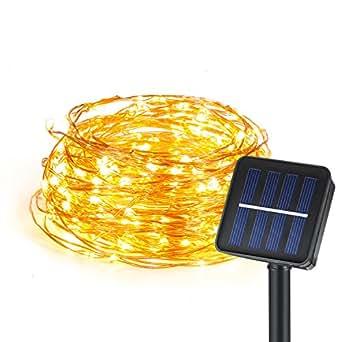 ajew solar lichterkette au enlichterketter mit 60 led 6m beleuchtung f r outdoor garten haus. Black Bedroom Furniture Sets. Home Design Ideas