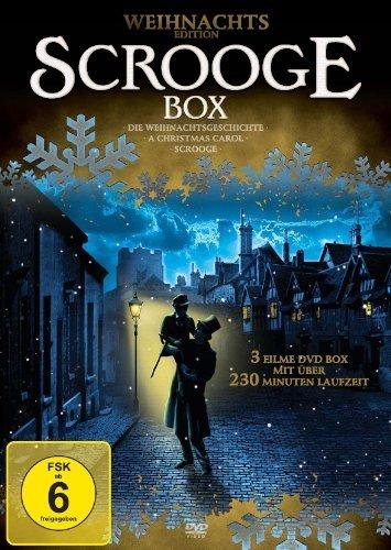 Preisvergleich Produktbild Scrooge Box mit 3 Klassiker zu Weihnachten (A Christmas Carol - Die Weihnachtsgeschichte - Scrooge)