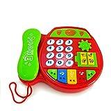 Divertente Giochi per bambini Giochi educativi per bambini Musica Telefono Telefono giocattolo Regali (colorato) per bambini da SKNSM