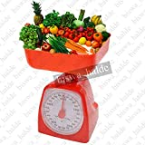 #9: 5kg Analog Electronic Food Diet Postal Home Cooking Kitchen Weight Weighing Scale Tools