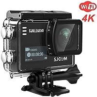 SJCAM SJ6 LEGEND Dual and 2 LCD Touch Screen CMOS 4K Ultra HD Sport DV Action Camera(Black)