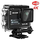 SJCAM SJ6 LEGEND Dual and 2 LCD Touch Screen CMOS 4K Ultra HD Sport DV Action Camera(Black)
