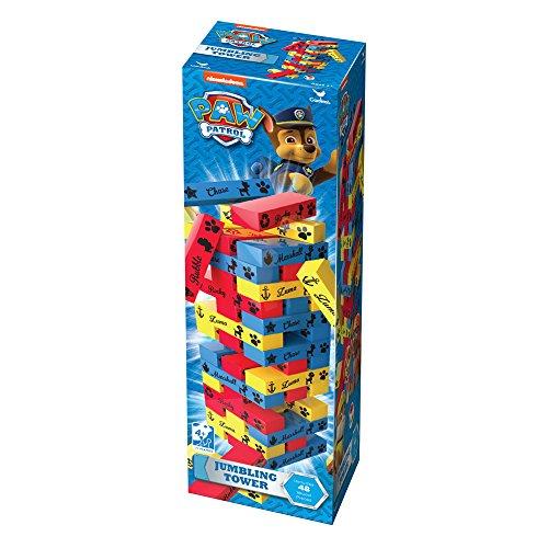 Cardinal 6035863 Paw Patrol Jumbling Tower Game, Multicolour