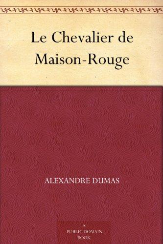 Couverture du livre Le Chevalier de Maison-Rouge