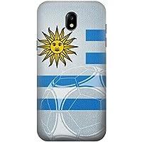 Uruguay Football Soccer Flag Funda Carcasa Case para Samsung Galaxy J5 (2017) EU Version