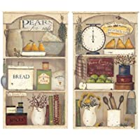 "Country Kitchen Kitchen RoomMates-Adesivi (43 cm), motivo ""Family Home Style: casetta"