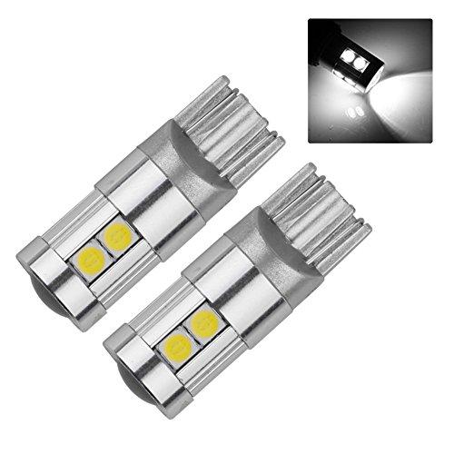 Oce180anYLV Lot de 2 Feux de Circulation diurnes à LED T10 pour Voiture