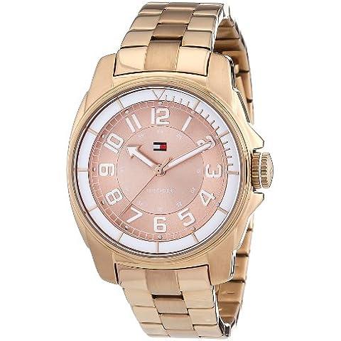 Tommy Hilfiger 1781230 - Reloj analógico de cuarzo para mujer con correa de acero inoxidable, color
