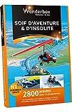 WONDERBOX - Coffret cadeau - SOIF D'AVENTURE ET D'INSOLITE
