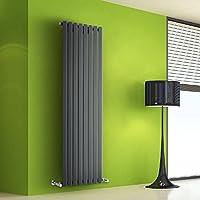 Hudson Reed DRAVP3 - Radiador de Diseño Vertical Decorativo Para Calefacción Central de Agua - Acero