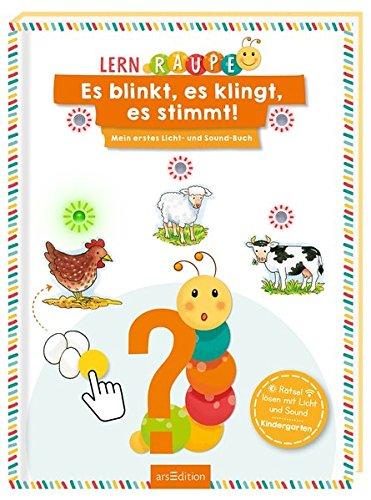 Es Drei Licht (Lernraupe - Es blinkt, es klingt, es stimmt!: Mein erstes Licht- und Sound-Buch (Kindergarten-Lernraupe))