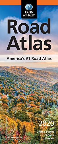 Rand McNally 2020 Compact Road Atlas: United States, Canada, Mexico