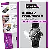 dipos I 6X Schutzfolie klar passend für Tag Heuer Connected Folie Displayschutzfolie