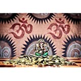 Pitaara Box Lord Ganesh - LARGE Size 29.7 Inch X 20.0 Inch - UNFRAMED ARTISTIC CANVAS Wall Paintings : DIGITAL PRINT Artwork Like Hand Paintings : Beautiful Home Interior Wall Décor Photo Gifts & Decorative Paintings For Bedroom, Living Room, D