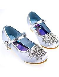 Frozen Eiskönigin Elsa Mädchen Prinzessin Sandal Girl Bogen Kinder Schuhe