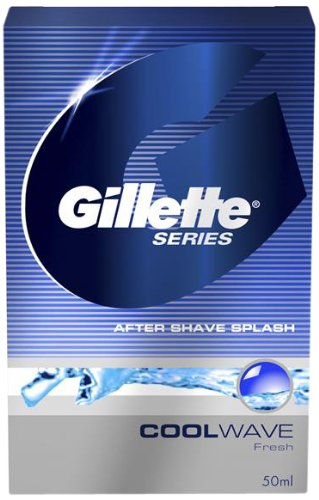 Gillette Aftershave Lotions Gillette Series After Shave Splash Cool Wave