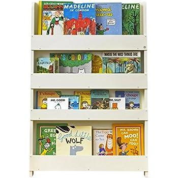 Tidy Books ® - Regal Kinderzimmer | Cremeweiß | Bücherregal für ...