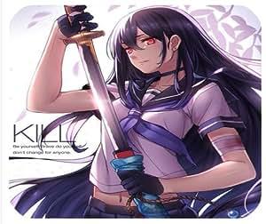 Akame GA Kill. Akame, kurome, mine, Leone, sheele, Chelsea Anime Tapis de souris Tapis de souris (11)