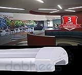 LED MODERN Niedriges Profil Dünn Deckenleiste Licht Zerstreut Deckel & Aluminiumgehäuse - Weiß, 900mm 30W