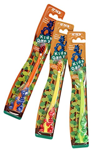 Kids Dyny Tooth Brush (pack of 4)  available at amazon for Rs.119