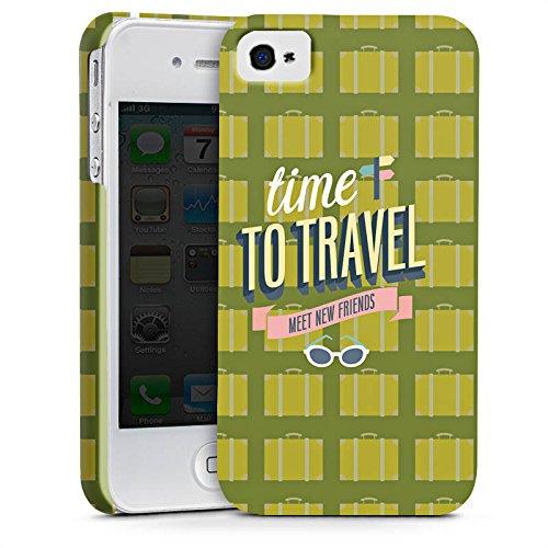 Apple iPhone X Silikon Hülle Case Schutzhülle Urlaub Freunde Spruch Premium Case glänzend