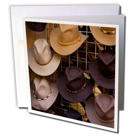 e, Plaza, Cowboy Hüte auf Display-Grußkarte, 15,2x 15,2cm, Single (GC 92938_ 5) ()