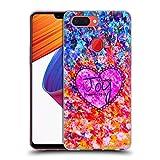 Head Case Designs Offizielle EBI Emporium Choose Joy Typografie 2 Soft Gel Huelle kompatibel mit Oppo R15