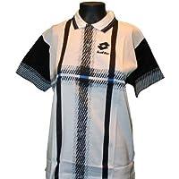 Lotto Poloshirt Becker E Junior, Jungen, weiß / schwarz / blau