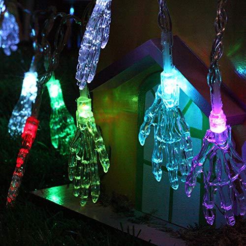 Cadena de Luces Halloween, Morbuy Batería Decorativas LED Lámpara de Tira Bola Hada Noche Cadenas de Luz Para Bebe Casa Dormitorio Decoración Boda Fiesta De Cumpleaños Navidad Jardines Festivales Día de San Valentín Regalo (Color, 2.5m/20 lights)