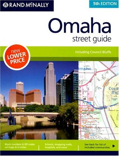 Rand McNally Omaha Street Guide (Nebraska Omaha Map Street)
