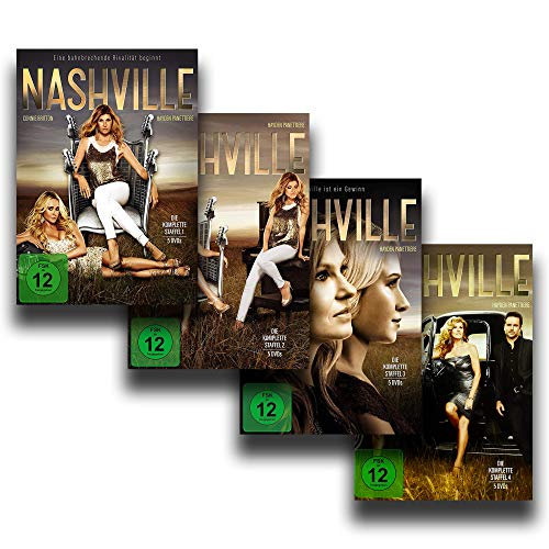 NASHVILLE - Die kompletten Staffeln 1 + 2 + 3 + 4 [20 DVD-Box-Set]