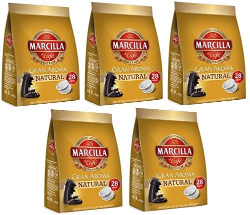 Capsulas Senseo Marcilla Natural 140 Monodosis